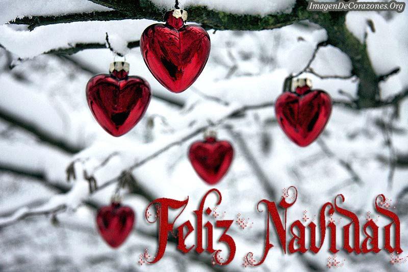 Imagenes De Corazones Feliz Navidad Para WhatsApp