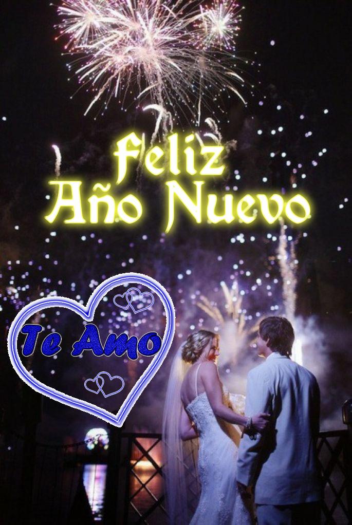 Imagenes feliz año nuevo mi amor