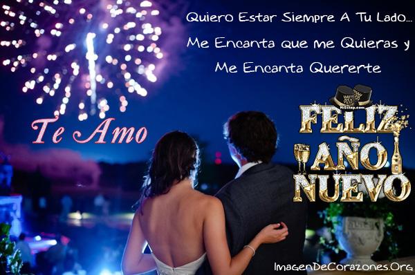 Tarjeta Con Mensajes De Amor Para Regalar De Año Nuevo