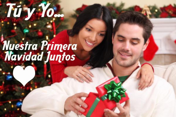 Tu y yo nuestra primera navidad juntos