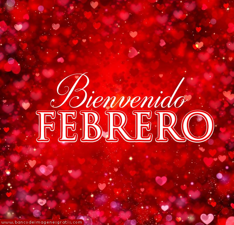 Imagen Corazones Bienvenido Febrero Para Perfil