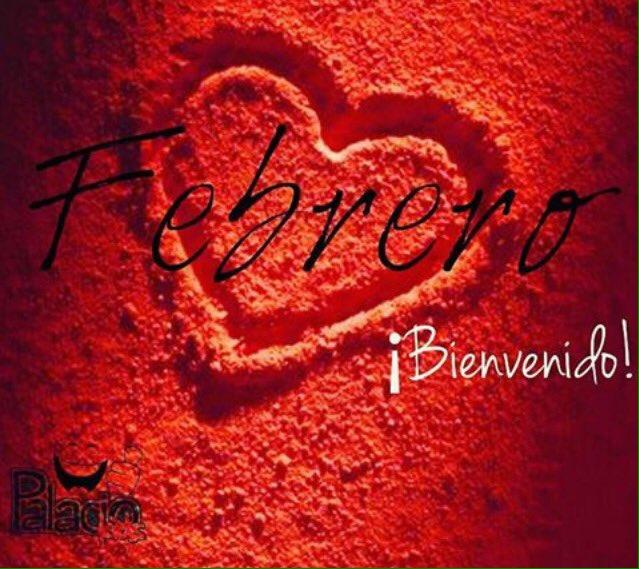 Imagen Roja Con Corazon Bienvenido Febrero