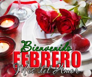 Imagen Romántica Bienvenido Febrero Mes Del Amor