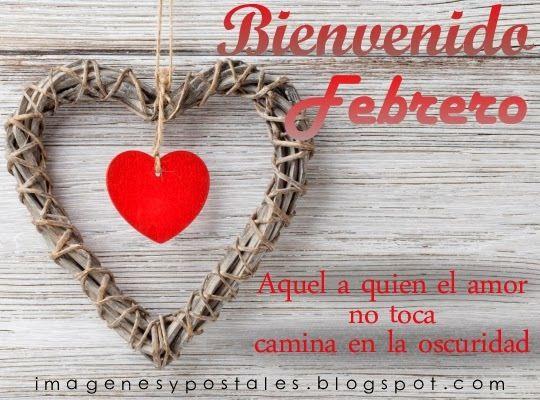 Linda Imagen De Corazon Bienvenido Febrero