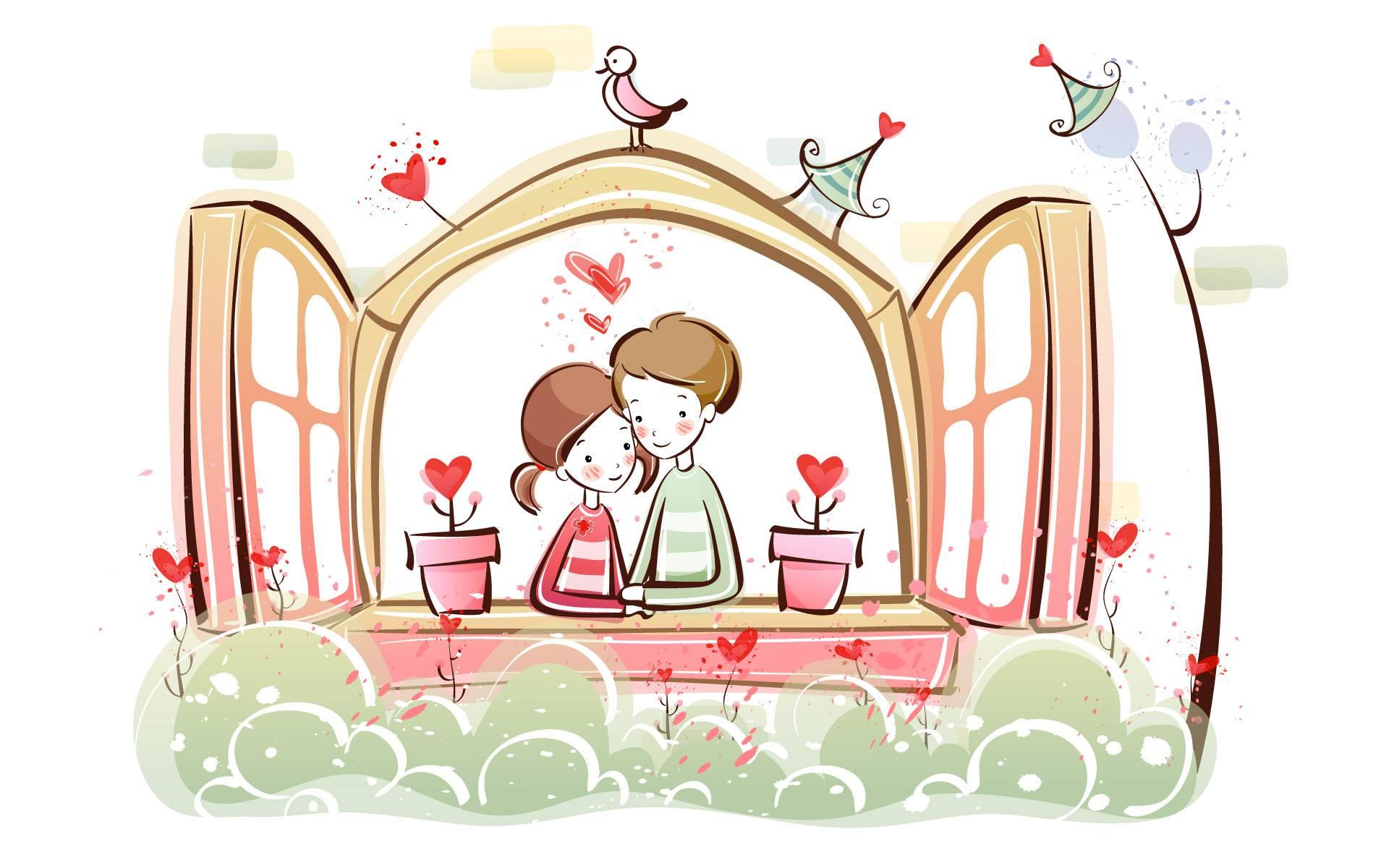 Imagenes de dibujos romanticos para enamorar