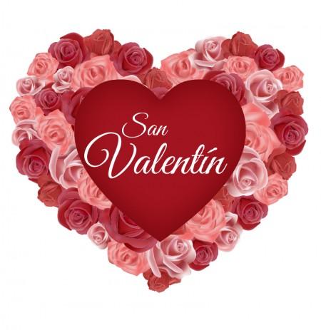 Corazon Con Rosas San Valentin Para Perfil