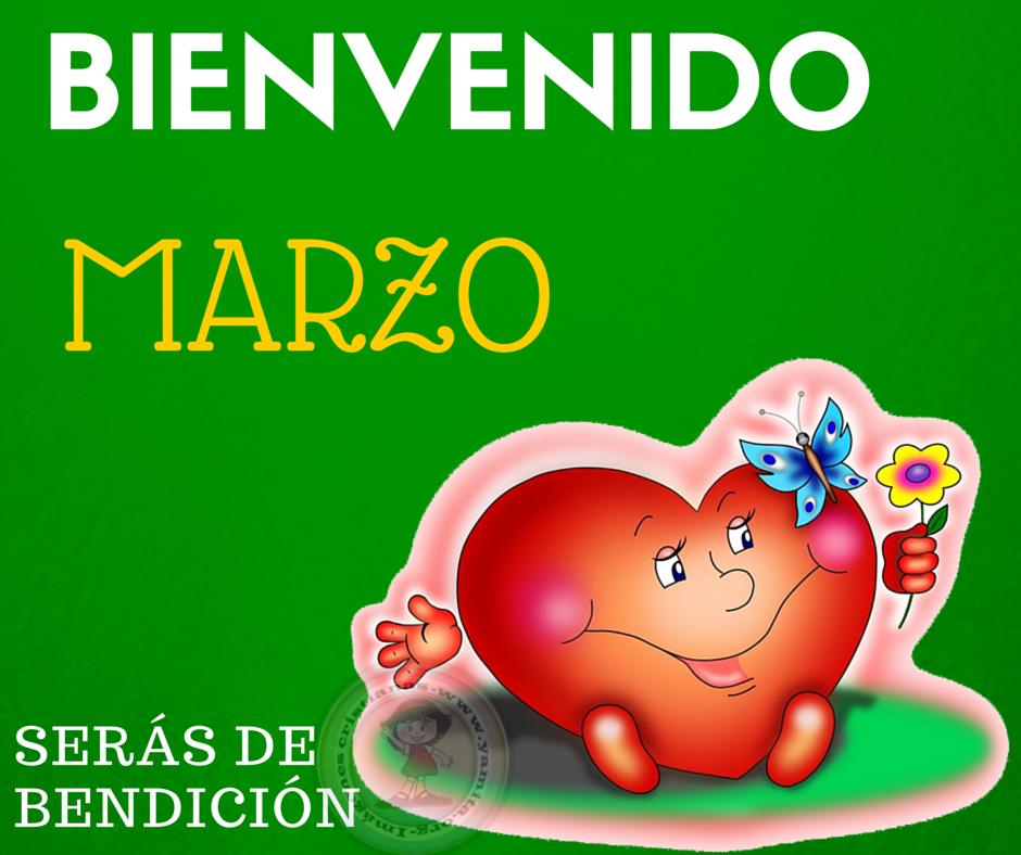 Imagenes De Corazones Bienvenido Marzo