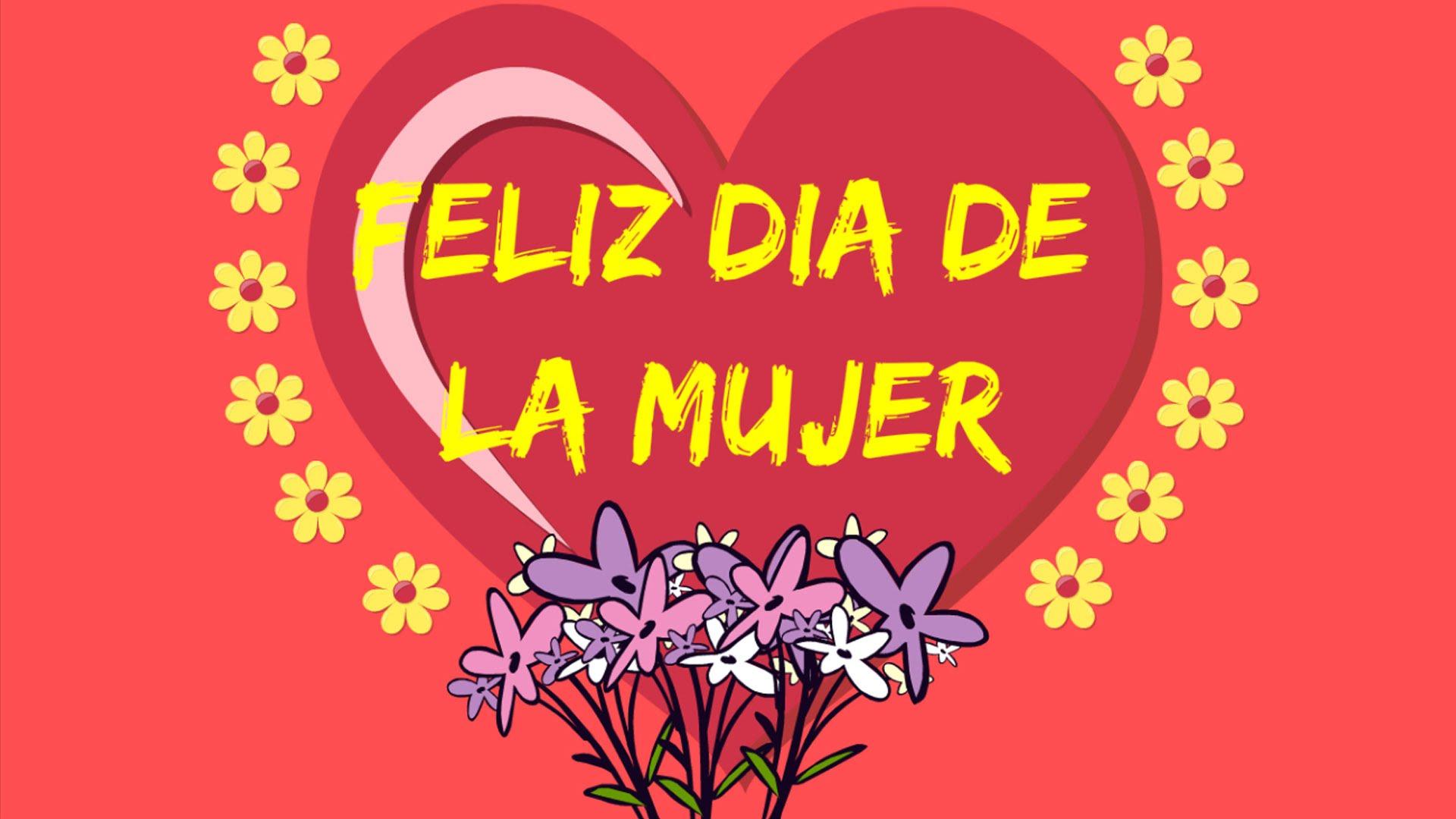 Imagenes de corazon feliz dia de la mujer para regalar por mensaje