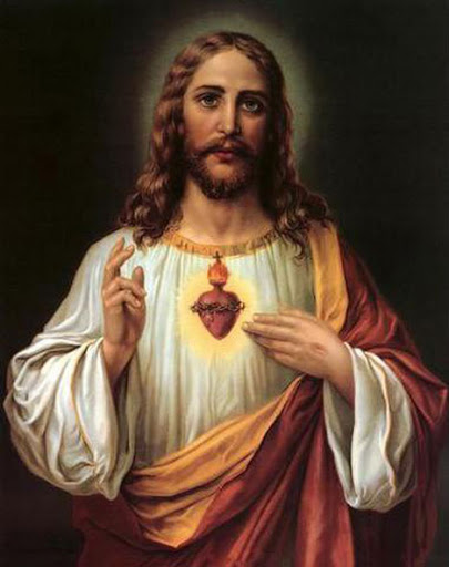 Bonita Imagen Del Sagrado Corazon de Jesus