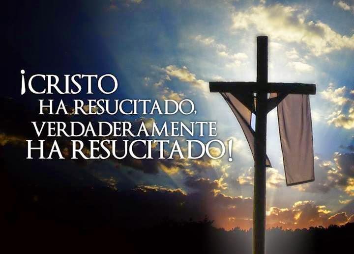Cristo a Resucitado Mensajes en Imagenes para Facebook y Whatsapp