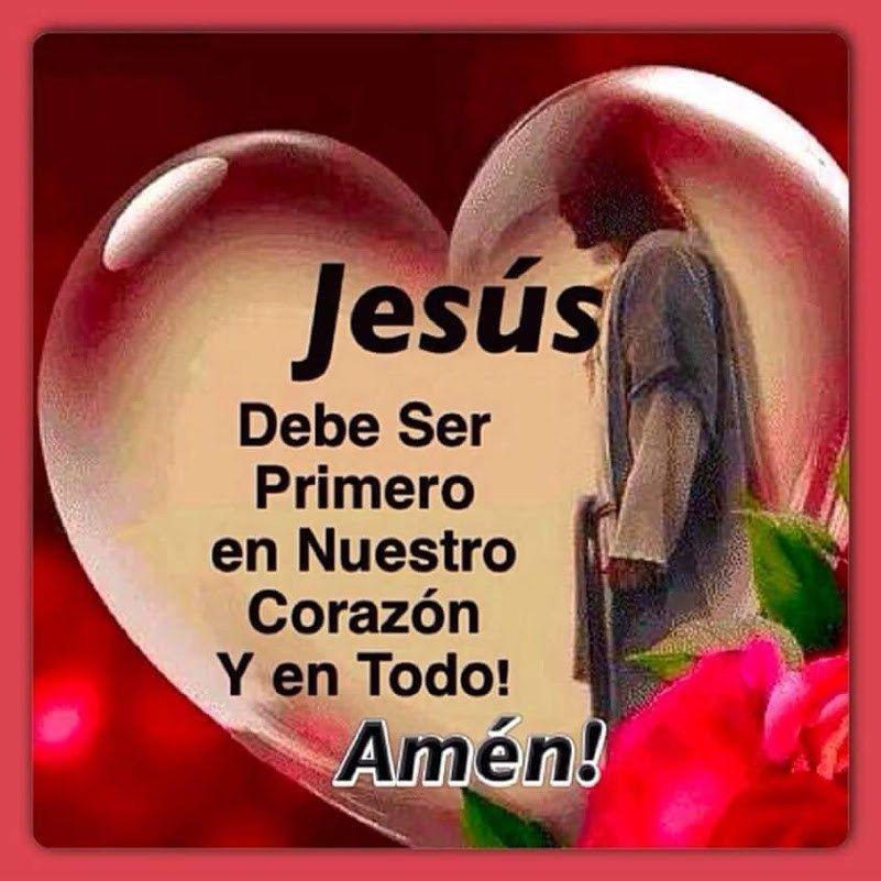 Imagen De Corazón Con Reflexiones Sobre Jesus