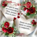 Imagenes decorazonescon mensajes sobre el amor de Dios