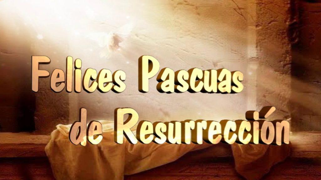 Imagen Felices Pascuas de Resurreccion para poner en el Estado