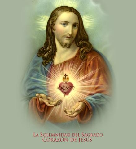 Imagen del Sagrado Corazon de Jesus para fondo del celular