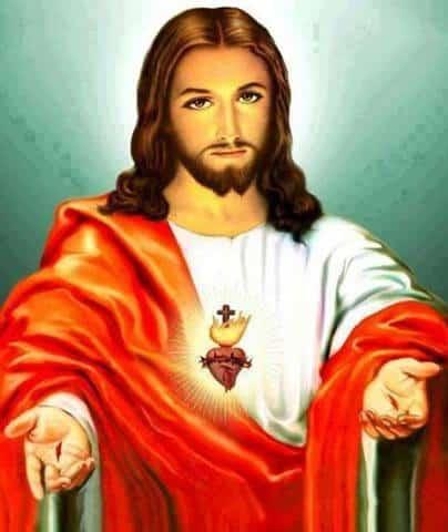 Imagen del corazón de Jesús para el celular