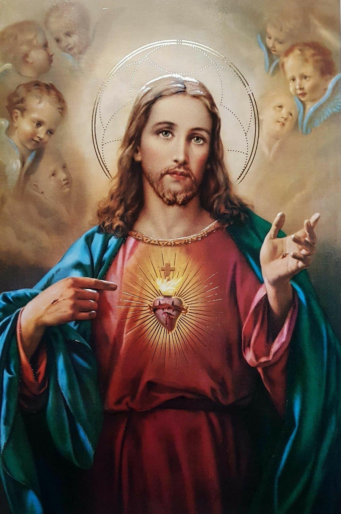Imagenes del Corazon de Jesus