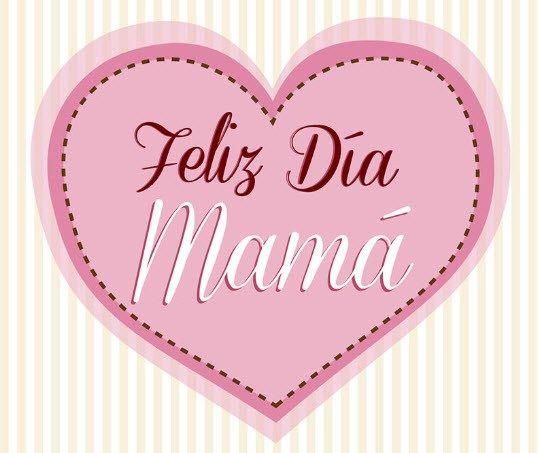 Imagen linda de corazones para las madres en su dia