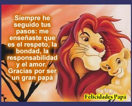 Imagenes con mensajes para el día del padre