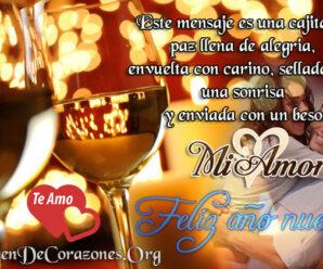Imagen Con Mensajes De Año Nuevo Para Mi Amor