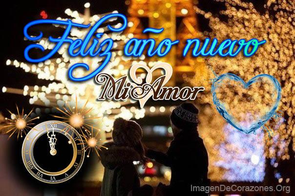 Imagen con Corazon feliz año nuevo mi amor